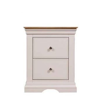 Hamshire 2 Drawer Bedside Locker