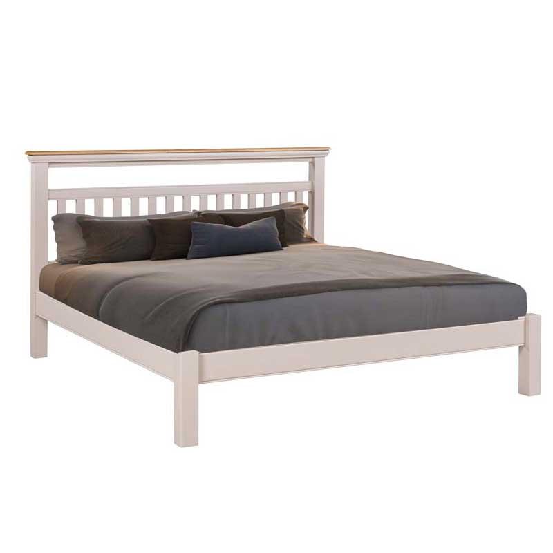 harrow 4 ft 6 inch double bed frame ger gavin bedroom. Black Bedroom Furniture Sets. Home Design Ideas