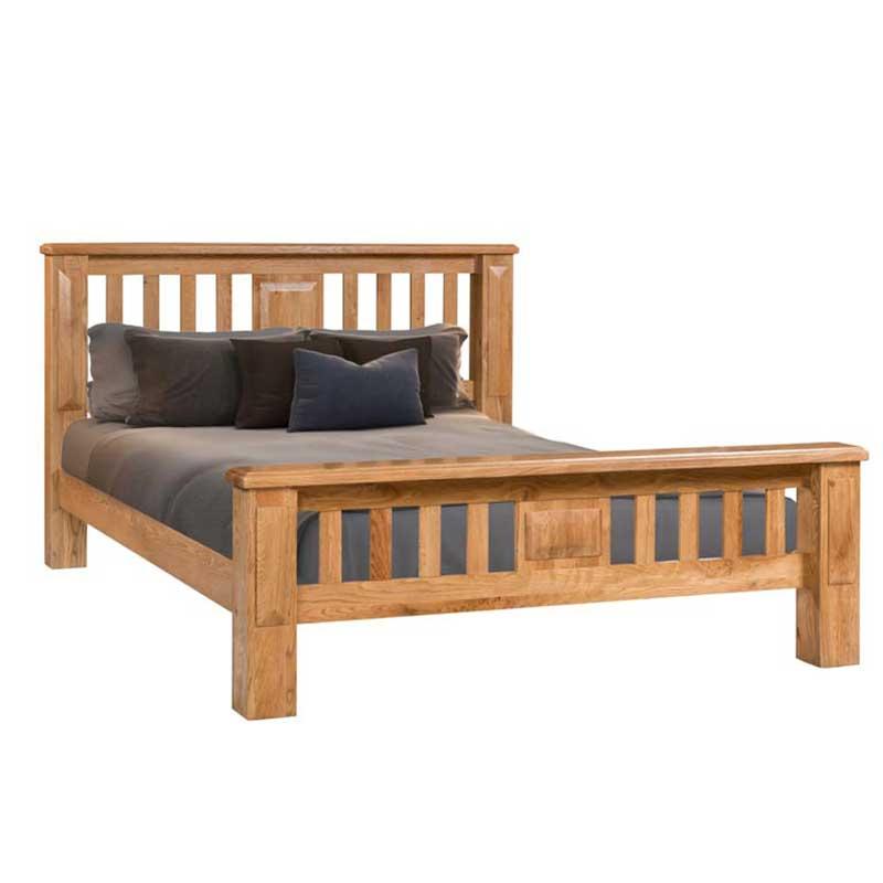 perth 4 ft 6 inch double bed frame ger gavin bedroom furniture dining furniture occasional. Black Bedroom Furniture Sets. Home Design Ideas