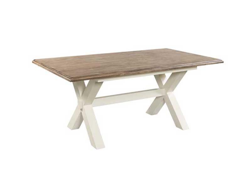 Portland cross leg dining table ger gavin bedroom furniture portland cross leg dining table watchthetrailerfo