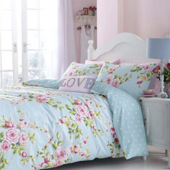 Catherine Lansfield Canterbury Multi Double Duvet Cover