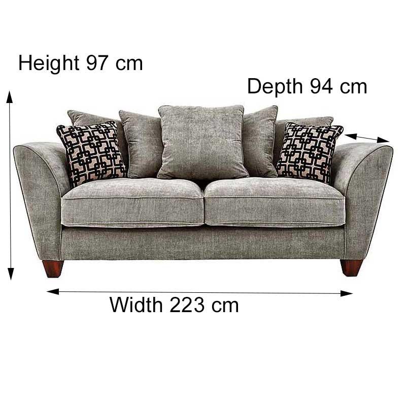 Buoyant Tangier 3 Seater Sofa