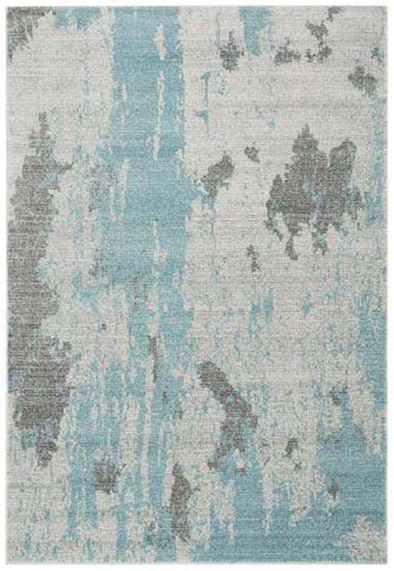 Nova Painterly Duckegg Rug 200x290cm Ger Gavin Home