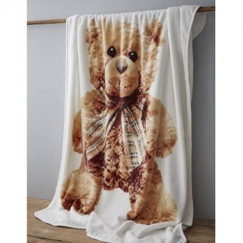 Catherine Lansfield Teddy Bear Blanket