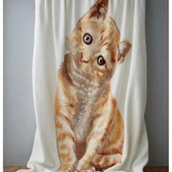 Catherine Lansfield Kitten Blanket