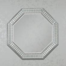 Brianna Octagon Silver Mirror
