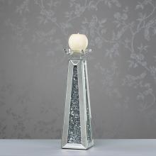 Crystals Prism Candleholder 40cm