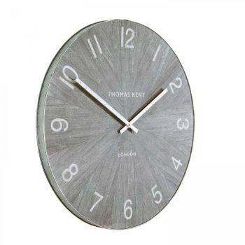 Thomas Kent 22'' Wharf Wall Clock - Limestone