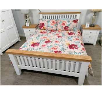 Camille 5' king bedframe