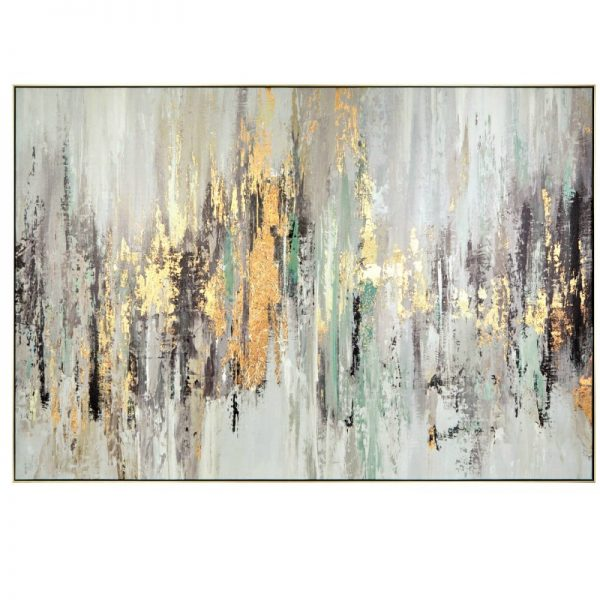 Essence Gold Canvas Picture