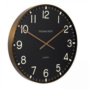 "Thomas Kent Clocksmith Brass Wall Clock 21"""