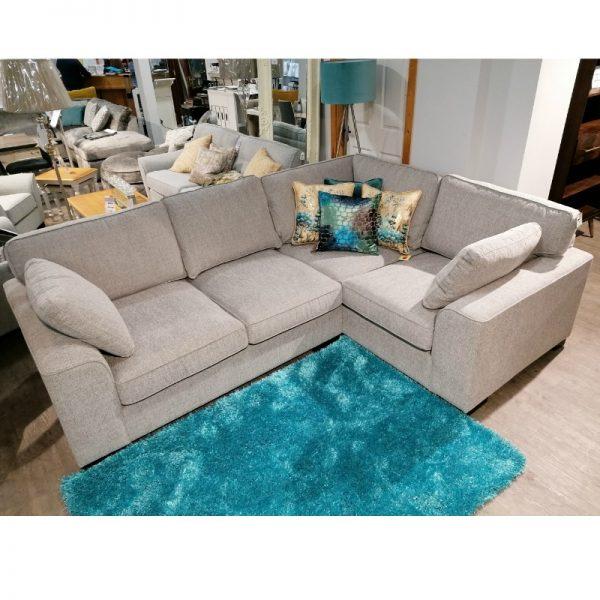 sheldon grey corner sofa