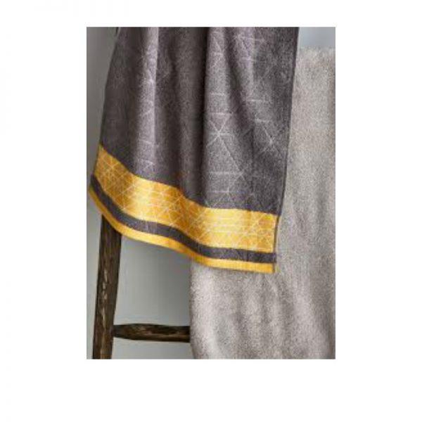 Catherine Lansfield Linear Diamond Towel Range
