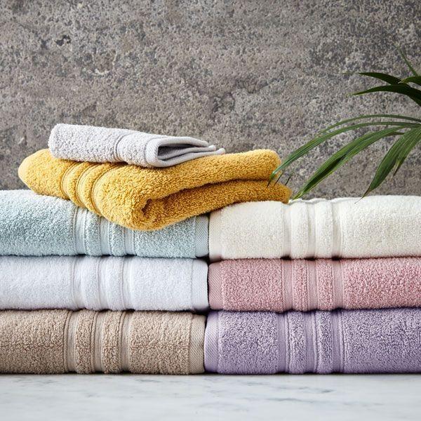 Catherine Lansfield Zero Twist 100% Cotton Towel