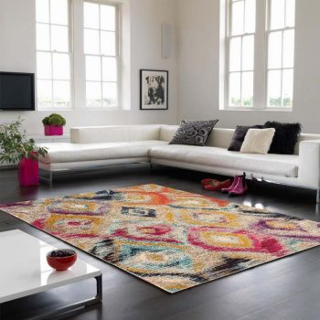 Colores COL08 Modern Abstract Rug By Asiatic 80x150cm