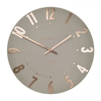 Thomas Kent 50cm Rose Gold Mulberry Wall Clock