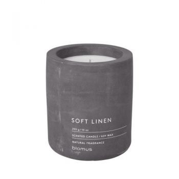 Large Blomus Scented oft Linen Candle