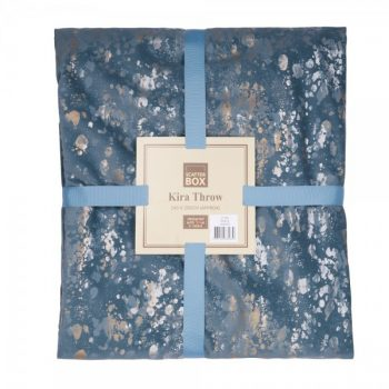 Scatter Box Kira 140x250cm Throw, Blue