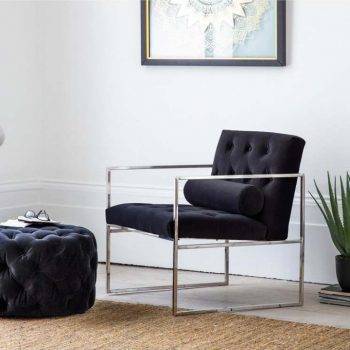 Sergio Chair & Footstool