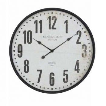 Rogers Black & Beige Clock