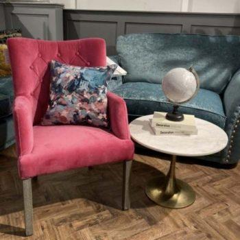 Sarah Cerise Pink Chair