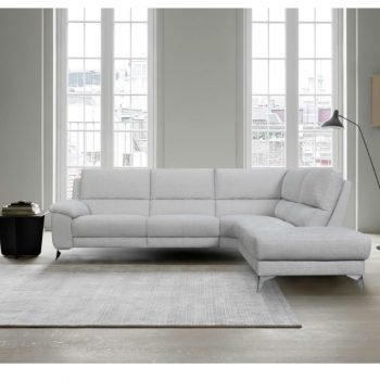 Lyon Grey Recliner Sofa