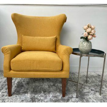 Myron Mustard Armchair
