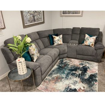 Pisa Modular Grey corner sofa