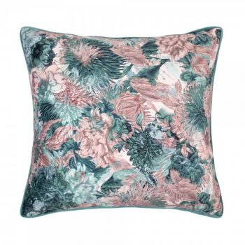 Scatter Box Miravel 45x45cm Cushion, Rose/Teal