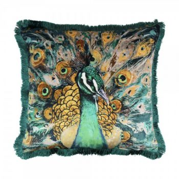 Scatter Box Quinn 45x45cm Cushion, Teal