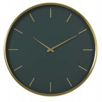 Timora Dark Green Clock