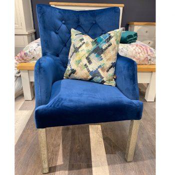 Sarah Navy Chair